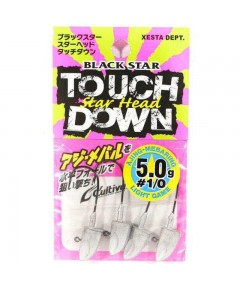 XESTA - JIGHEADS  STAR HEAD TOUCH DOWN HOOK 2 -5G