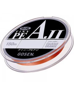 GOSEN - TINY PE AJI  4 BRAID LINE 150M -0.4 PE