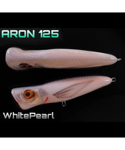 ALET SPINNING - ARON 125 12.5CM / 35G -WHITE PEARL