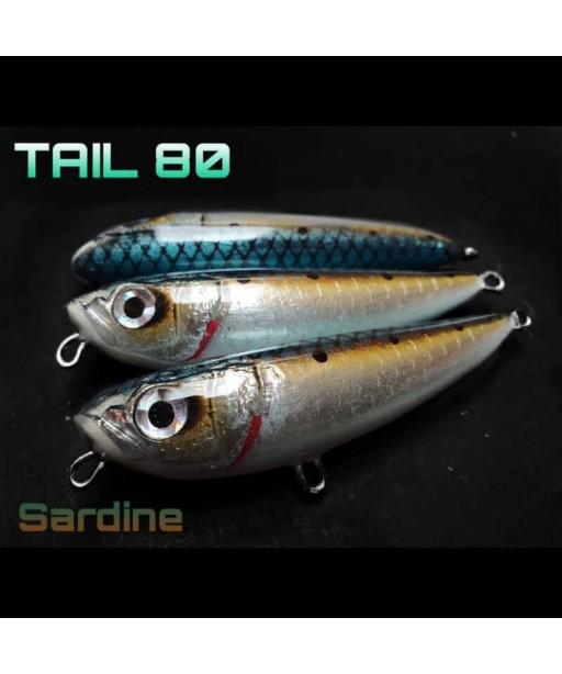 ALET SPINNING - TAIL 80 8CM / 11G -SARDINE