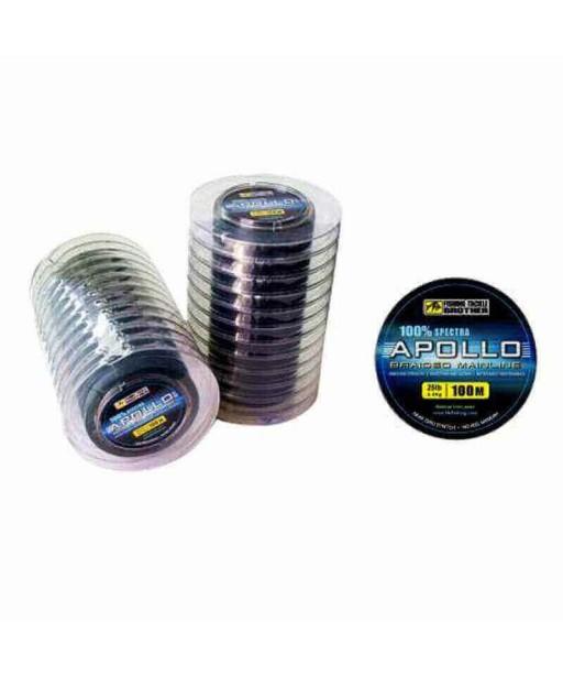 APOLLO - 4 BRAIDED LINE 100M 20LB -0.23MM