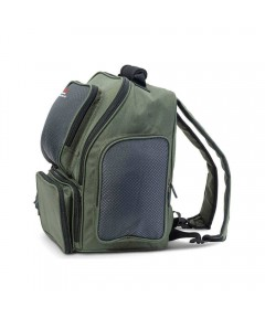 IRON CLAW - PARKER BACKPACK 34 x 23 x 40cm + 3 TACKLE BOXES