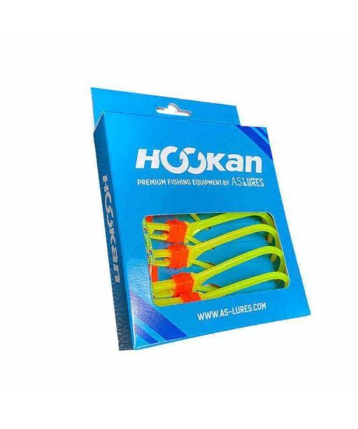 HOOKAN - HOOKS 7 PCS  -FLUO YELLOW