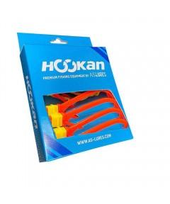 HOOKAN - HOOKS 7 PCS  -ORANGE