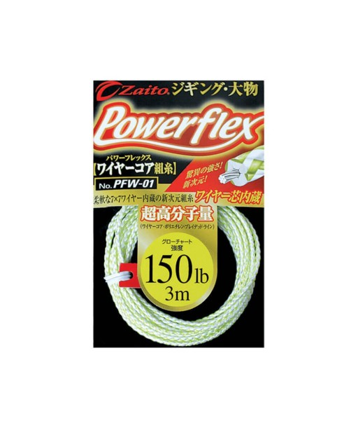 OWNER - POWERFLEX LINE WITH WIRE PFW01 4M -50LB