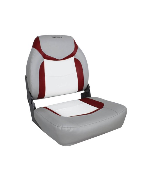 WATERSIDE - BOAT SEAT -RED/GRAY