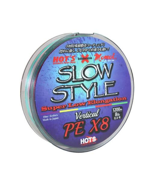 HOTS - SLOW STYLE LINE X8 300M -2.0 PE