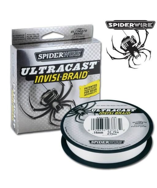 SPIDERWIRE ULTRA CAST INVISI BRAID 270m