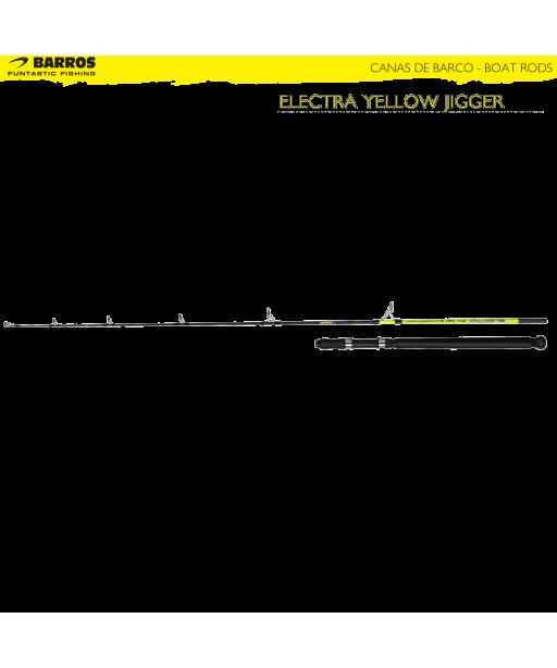 BARROS - ELECTRA YELLOW JIGGER 1.80m / 60-250g