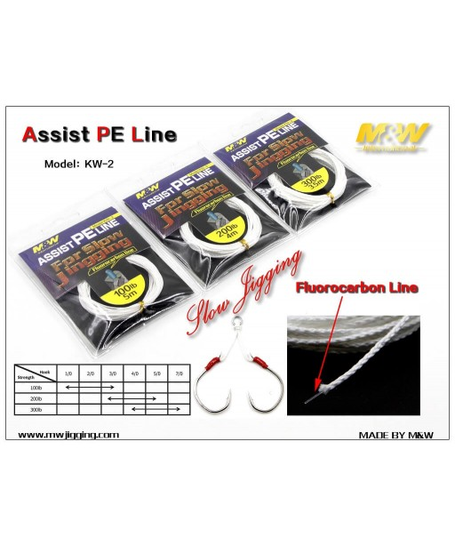 M&W - Assist PE Line KW-2  3.5m 300LB