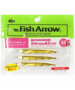 ARROW - FLASH J SHIRASU 9cm SW -CLEAR GOLD