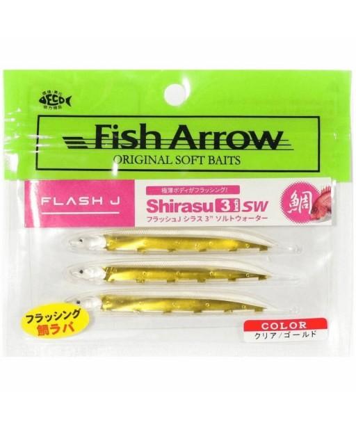 ARROW - FLASH J SHIRASU 9cm SW -CLEAR GOLD