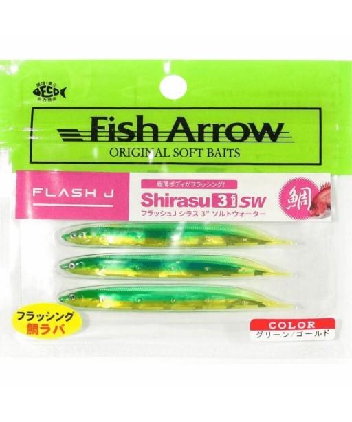 ARROW - FLASH J SHIRASU 9cm SW -GREEN GOLD