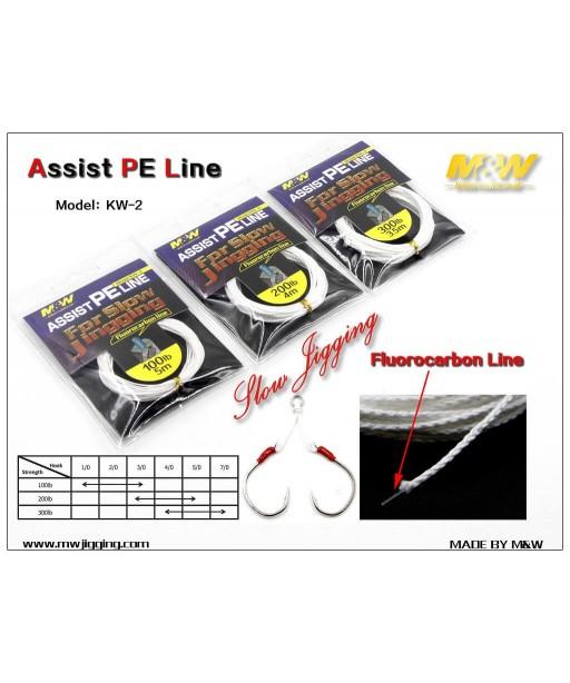 M&W - Assist PE Line KW-2  4m -200LB