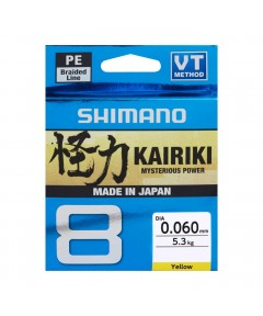SHIMANO - KAIRIKI 8 BRAID MULTICOLOR 300m -0.10mm