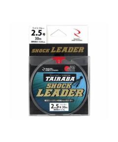 REAL METHOD TAIRABA SHOCK LEADER  30m PE 2.5 BLUE