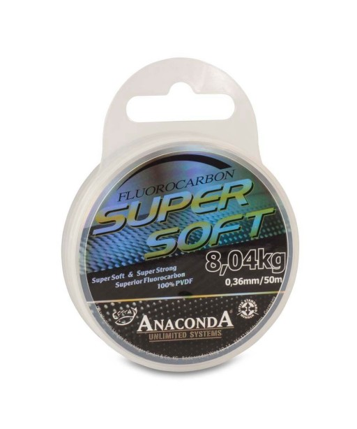 ANACONDA  - Super Soft Fluorocarbon 50m / 0,32mm