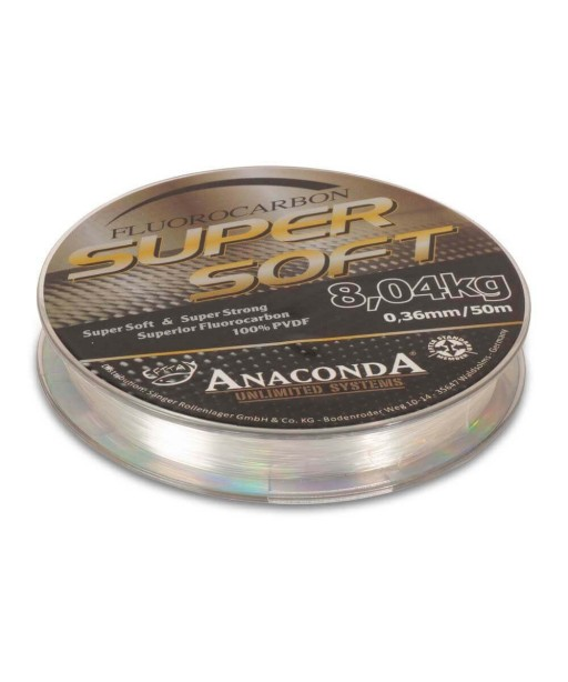 ANACONDA  - Super Soft Fluorocarbon 50m / 0.40mm