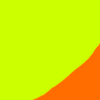 LIGHT GREEN - ORANGE