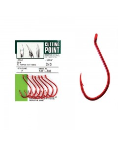 OWNER - CUTTING POINT 5111 RED -4/0