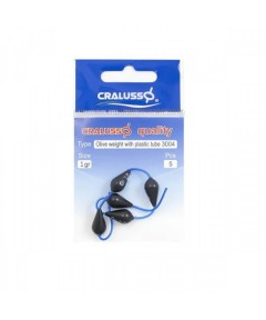 CRALUSSO - OLIVE WEIGHT WITH PLASTIC TUBE -10GR